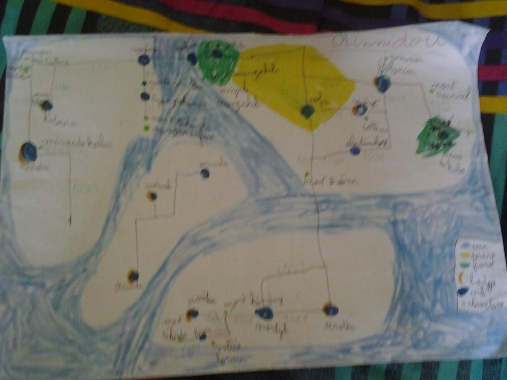 La carte de Rinnidou.