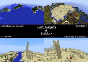 Event Donjons & Skyblock