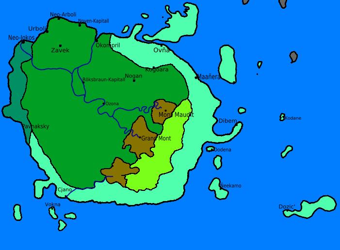 Carte du Wereldentraalk